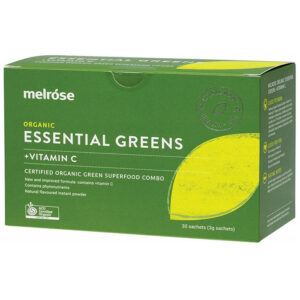 Melrose Organic Essential Greens + Vitamin C
