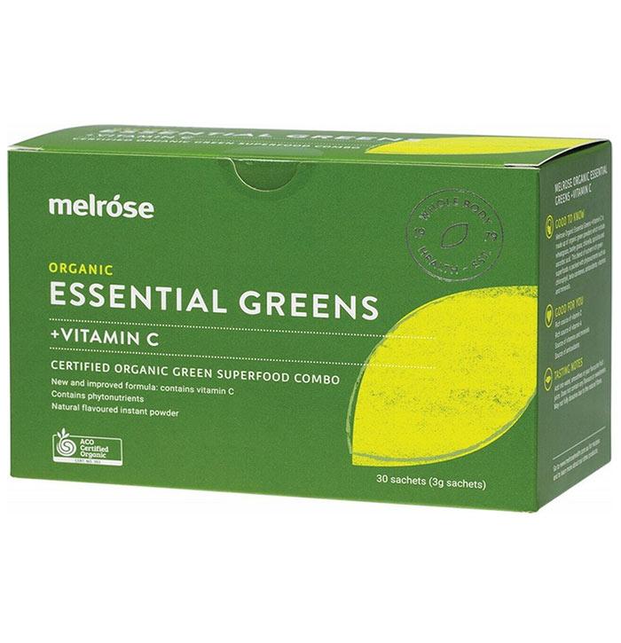 Melrose Organic Essential Greens + Vitamin C